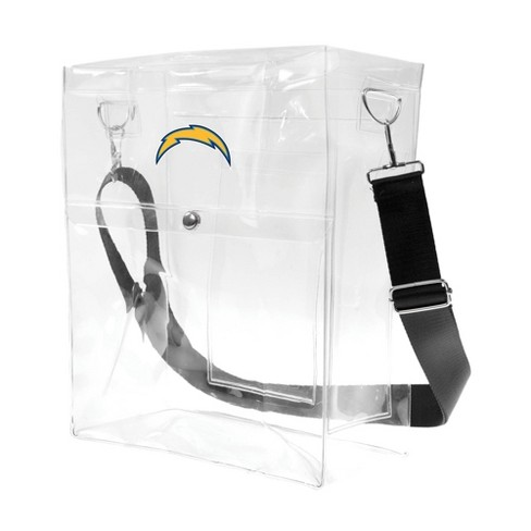 NFL Los Angeles Chargers Clear Ticket Satchel - image 1 of 4