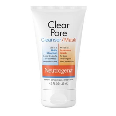 Neutrogena Clear Pore Facial Cleanser/Mask - 4.2 fl oz
