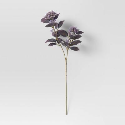 """28"""" Artificial Sedum Plant Arrangement Purple - Threshold™"""