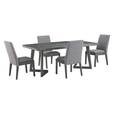 Besteneer Rectangular Dining Room Table Dark Gray - Signature Design by Ashley