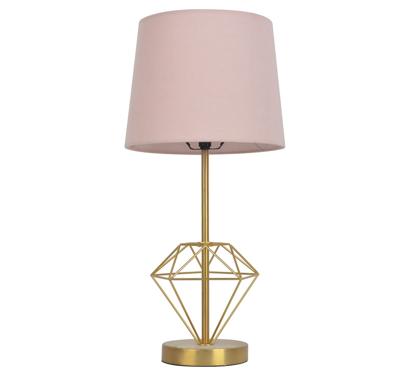 Wire Diamond Table Lamp - Pillowfort™ - image 1 of 2