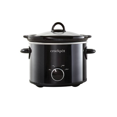 Crock-Pot 2qt Slow Cooker Black SCR200