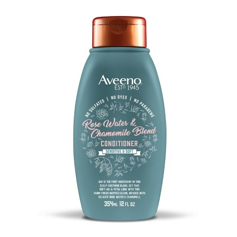 Aveeno Rose Water and Chamomile Blend Conditioner - 12 fl oz - image 1 of 4