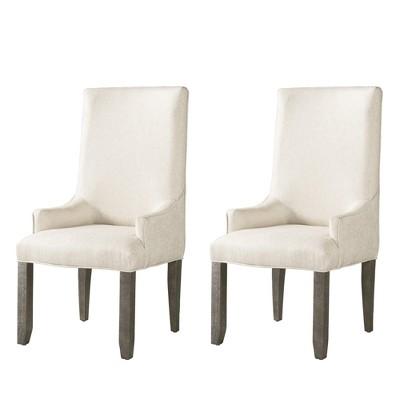 Flynn Parson Chair Set Cream   Picket House Furnishings