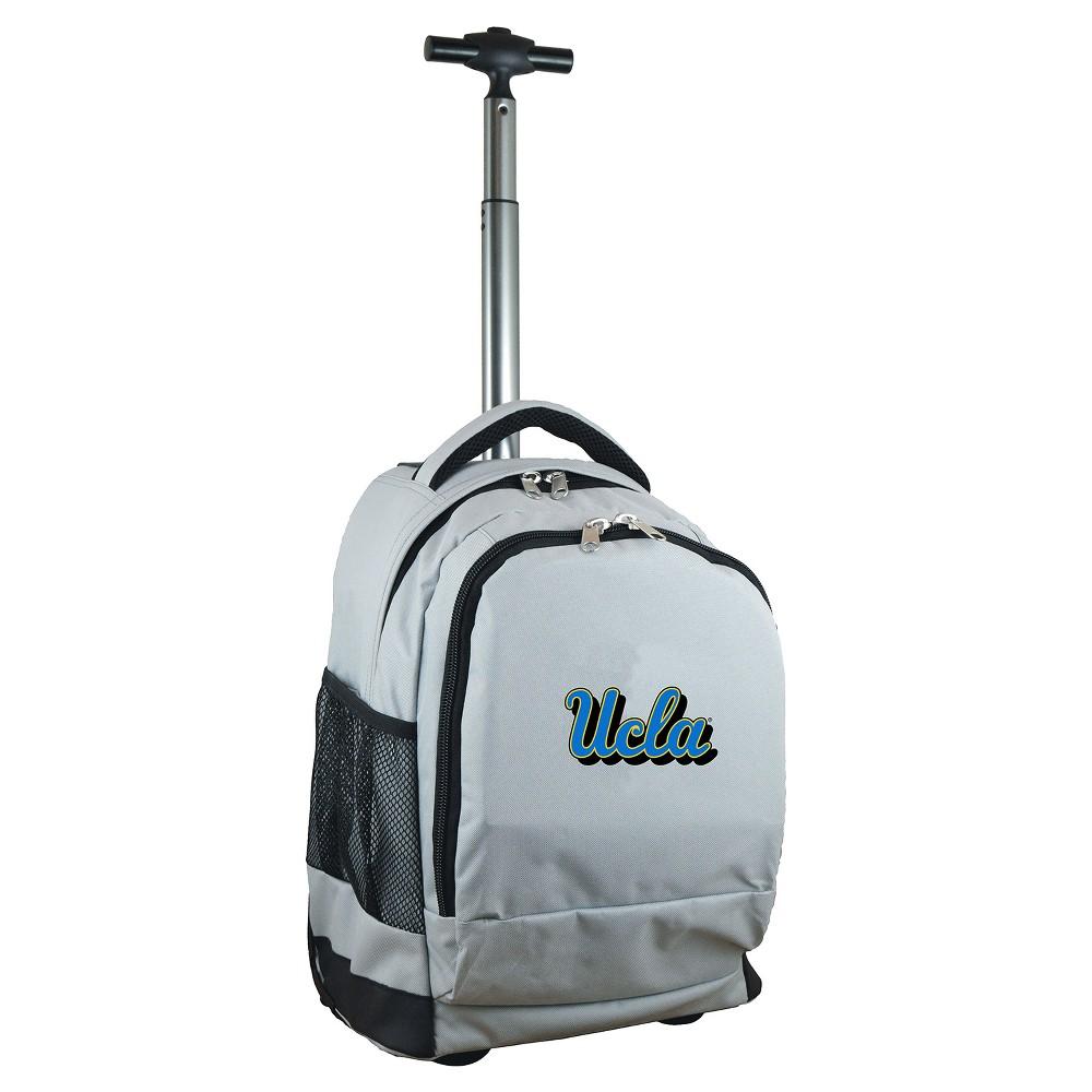 NCAA Ucla Bruins Gray Premium Wheeled Backpack