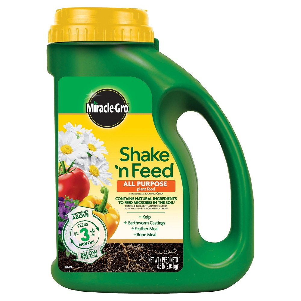 Image of Miracle-Gro Shake 'N Feed All Purpose Continuous Release Plant Food 4.5lb