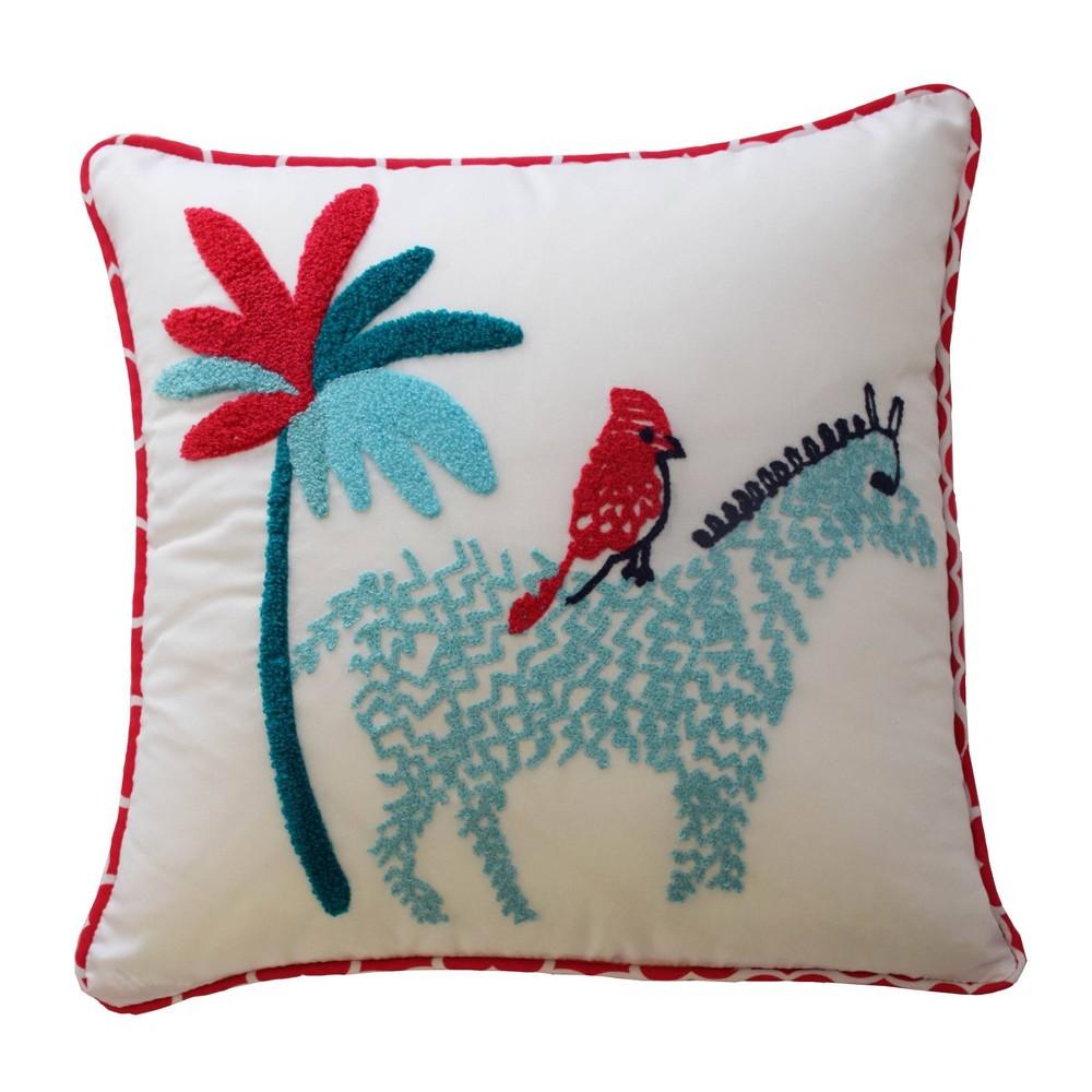 Reverie Zebra Throw Pillow 15 34 X15 34 Waverly Kids