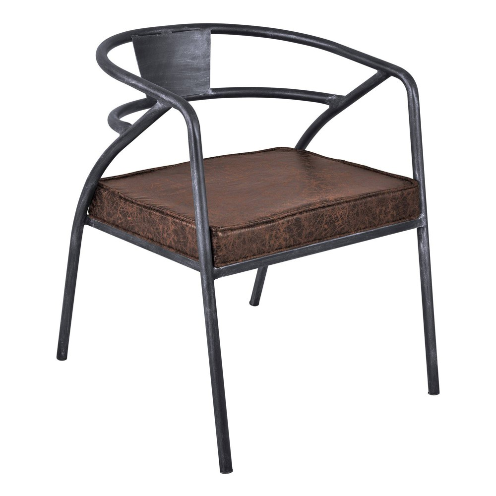 Thebes Modern Dining Chair Brown Modern Home