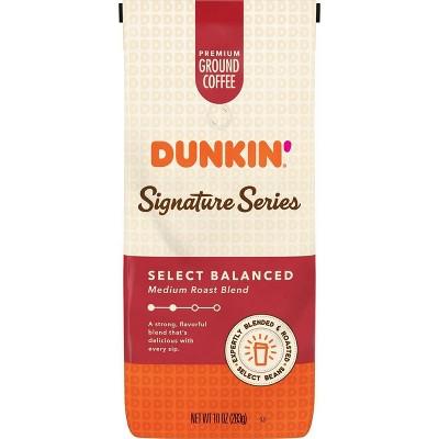 Dunkin' Donuts Signature Series Balanced Blend Medium Roast Coffee - 10oz