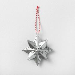 Star Ornament Silver - Hearth & Hand™ with Magnolia
