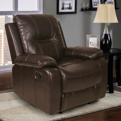 Waverley Recliner Dark Brown - Relax A Lounger - image 1 of 4