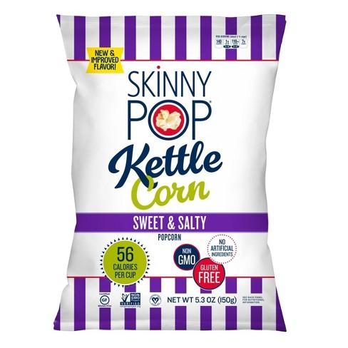 SkinnyPop Sweet & Salty Kettle Popcorn - 5.3oz - image 1 of 3