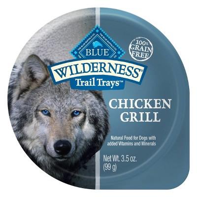 Dog Food: Blue Buffalo Wilderness Trail Trays