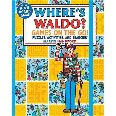Wheres Waldo Games on the Go - by Martin Handford (Paperback) - image 1 of 1