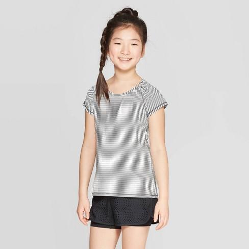 Girls' Mesh Back Super Soft Tech T-Shirt - C9 Champion® - image 1 of 3