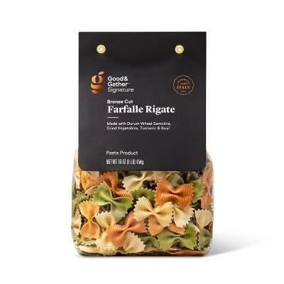 Signature Farfalle Rigate Tricolor 16oz - Good & Gather™
