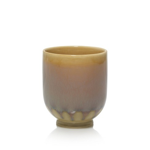 10oz Ceramic Jar Candle Bonfire Nights - Nature's Wick - image 1 of 3