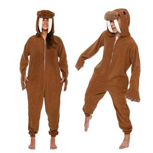 Funziez! Walrus Slim Fit Adult Unisex Novelty Union Suit - image 1 of 4