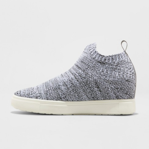 Womens Shyla Knit Sock Top High Top Sneakers - Mossimo Supply Co.™  Target