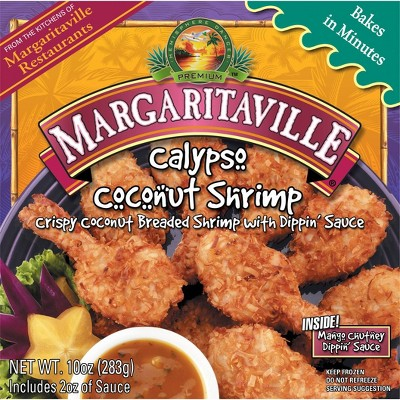 Margaritaville Calypso Coconut Shrimp - Frozen - 10oz