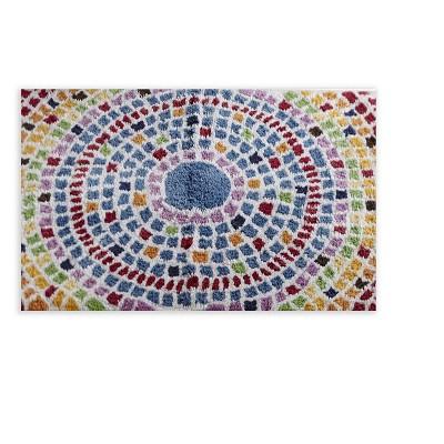 Superbe Picasso Mosaic Bath Rugs