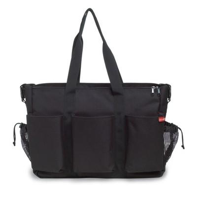 Skip Hop Duo Double Signature Diaper Bag - Black