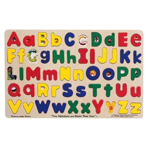 Melissa Amp Doug 174 Upper Amp Lower Case Alphabet Letters Wooden