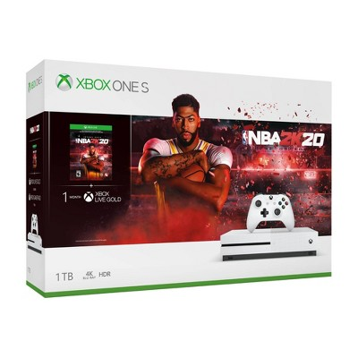 Xbox One S 1 TB NBA 2K20 Bundle