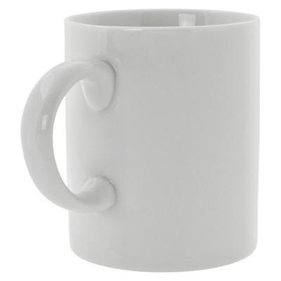 10 Strawberry Street Royal C-Handle Mug 8oz Set of 6 - White