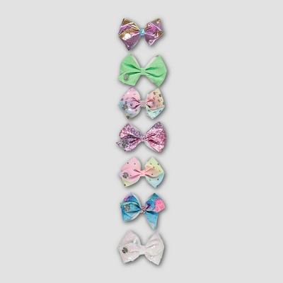 Girls' Nickelodeon JoJo Siwa 7pk Bow Hair Clip