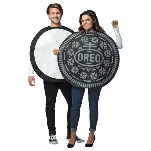 Oreo Cookie Adult Couples Costume - image 1 of 3