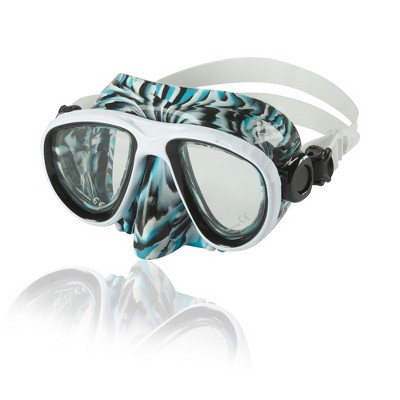 Speedo Adult Oceanic Dive Mask - Blue