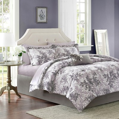 Gray Lark Comforter Set Queen 9pc