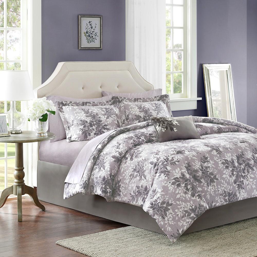 Gray Lark Comforter Set King 9pc