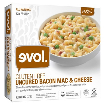 gluten free mac and cheese with bacon