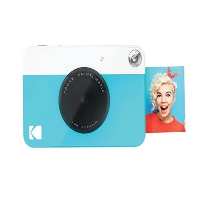Kodak PRINTOMATIC Digital Instant Print Camera - Blue (RODOMATICBL)