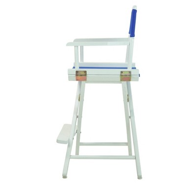Counter Height Director's Chair - Royal Blue - Casual Home