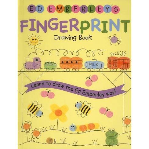 Ed Emberley's Fingerprint Drawing Book - (Hardcover) - image 1 of 1