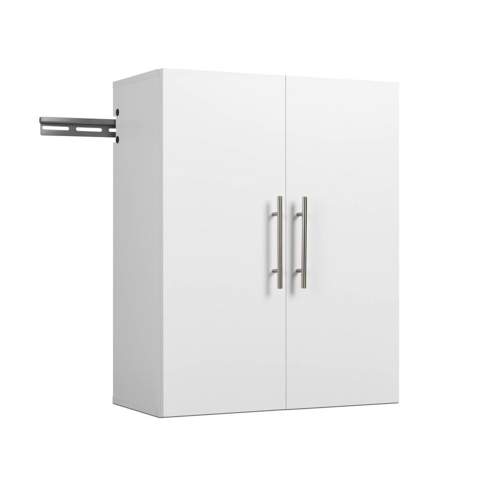 "Image of ""24"""" Hangups Upper Storage Cabinet White - Prepac, Size: 24"""""""
