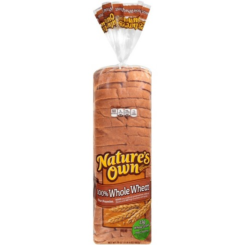Nature's Own 100% Whole Wheat Bread - 20oz - image 1 of 4