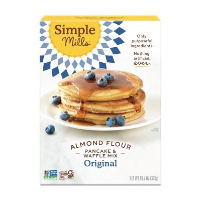 Simple Mills Gluten Free Pancake & Waffle Almond Flour Mix - 10.7oz