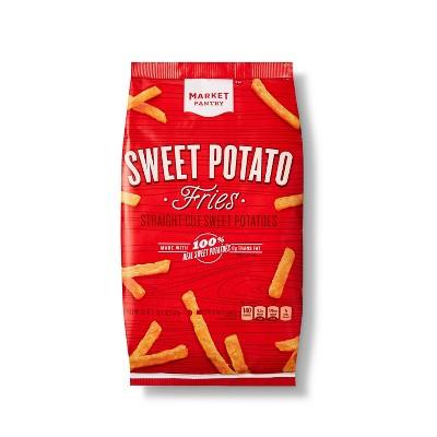 Sweet Potato Straight Cut Frozen Fries - 20oz - Market Pantry™