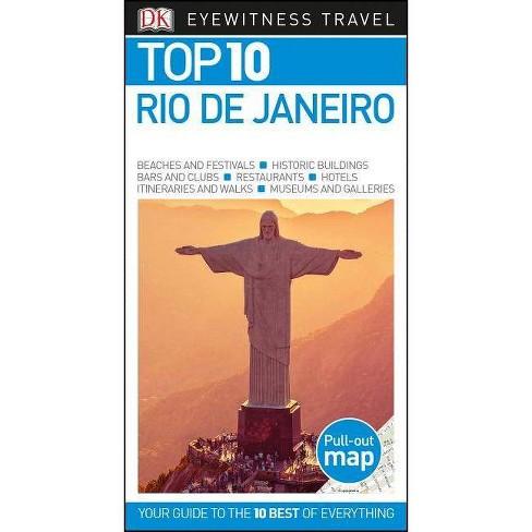 Top 10 Rio de Janeiro - (Pocket Travel Guide) (Paperback) - image 1 of 1