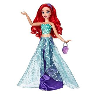 Disney Princess Style Series Ariel Doll with Purse and Shoes