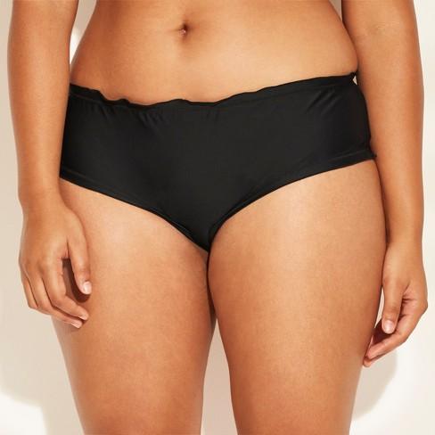 6f1bc00bf62f4 Women's Plus Size Ruffle Edge Hipster Bikini Bottom - Xhilaration ...