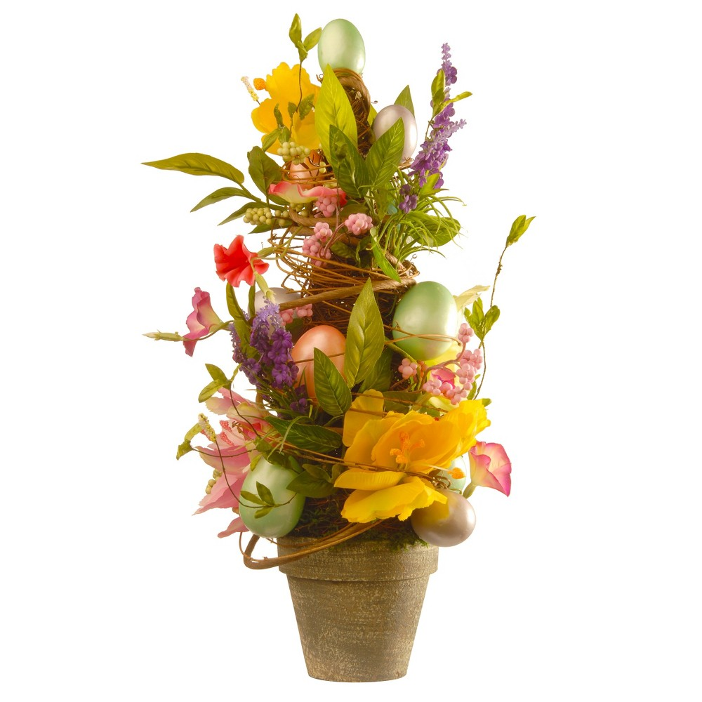 "Image of ""20"""" Decorated Easter Pot - National Tree Company"""