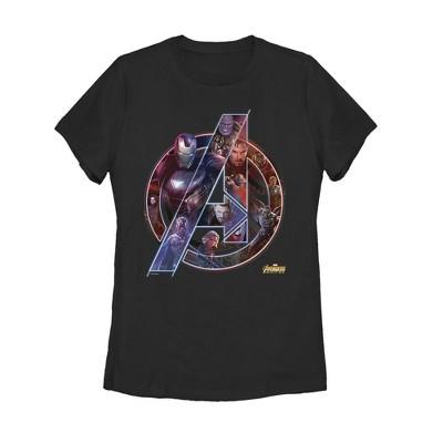 Women's Marvel Avengers: Infinity War Logo T-Shirt