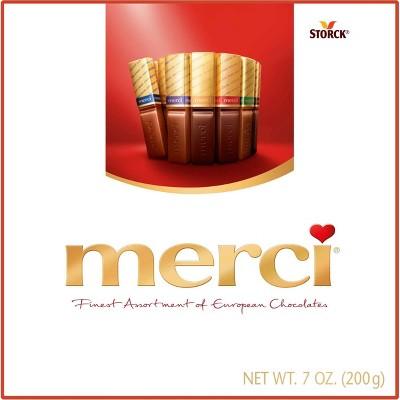 Merci Finest Assortment of European Chocolates - 7oz