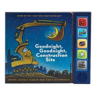 Goodnight, Goodnight Construction Site Sound Book (Hardcover)by Sherri Duskey Rinker