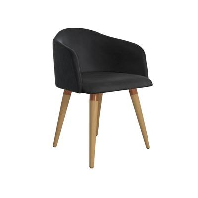 Kari Accent Chair Black - Manhattan Comfort